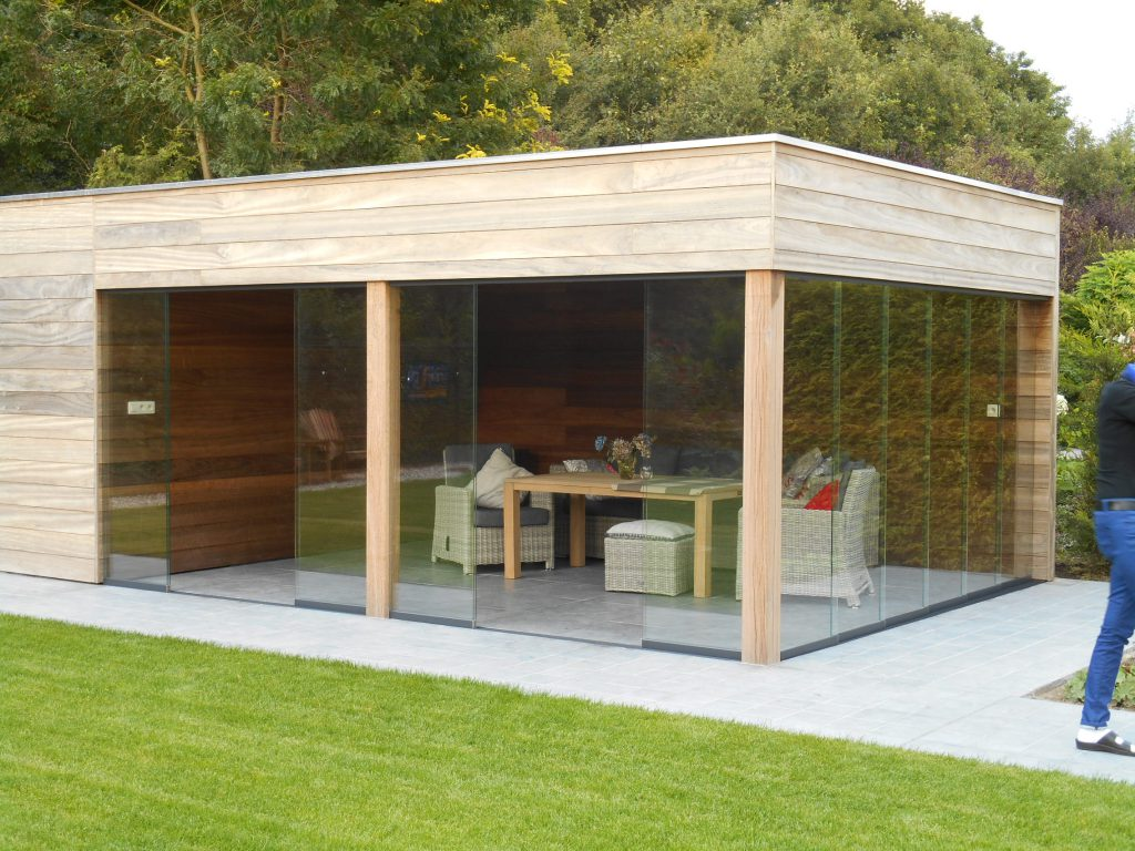 Moderne Tuinhuizen Luxury Wood Concepts