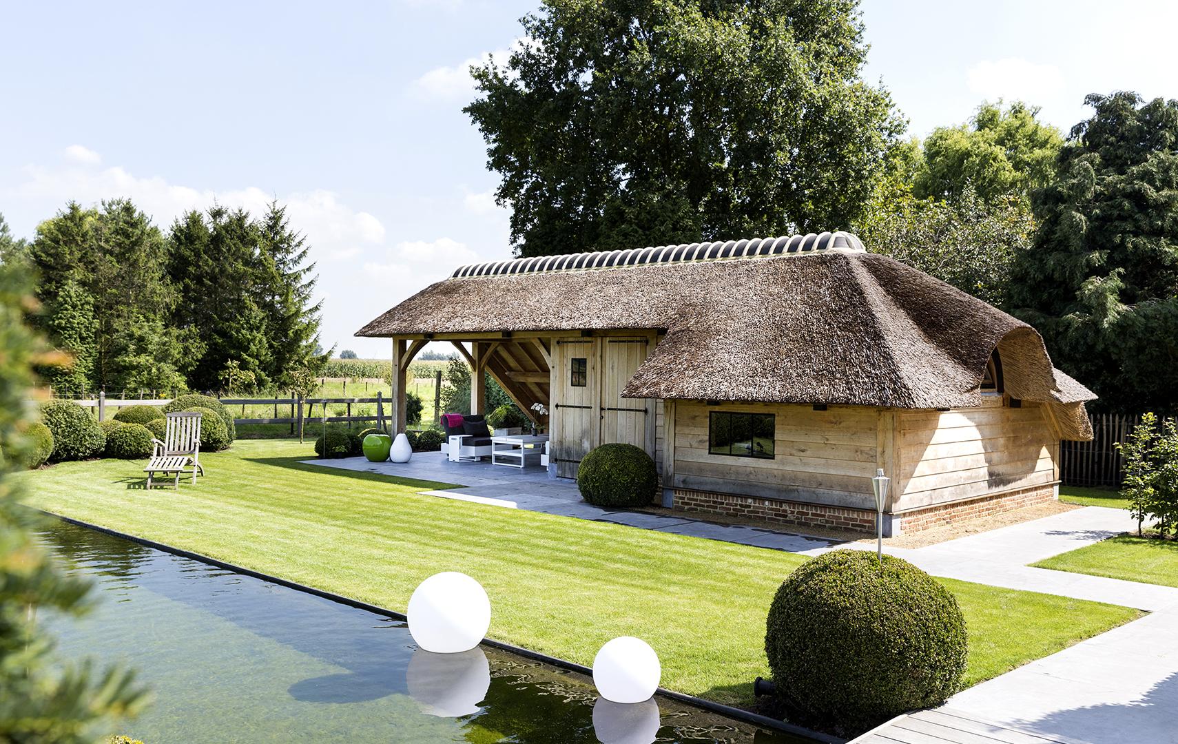Luxury wood concepts for Bijgebouw tuin
